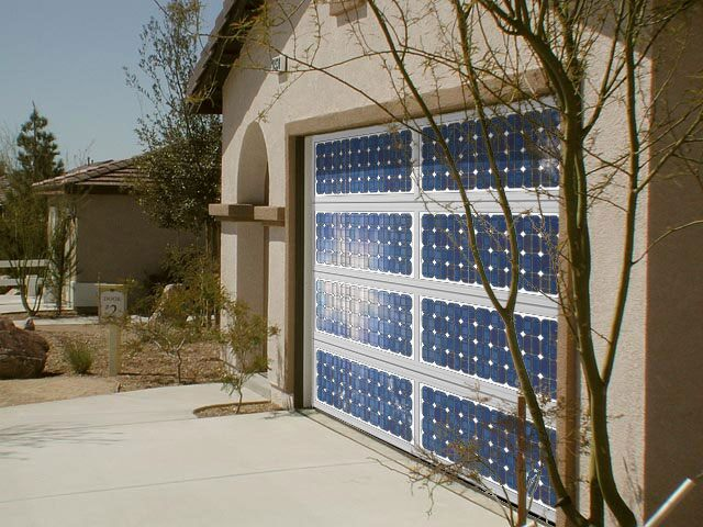 The First Solar Panel Garage Door Precision Garage Door Blog